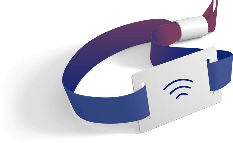 White label RFID wearables